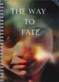 Omslag på en spiralbunden bok. Foto på ett barn i mössa, titeln i vitt.