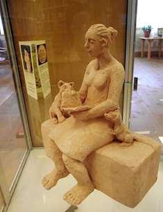 Kultur för olikheter samman. Skulptur av Marita Norin. Foto: Urban Berglund