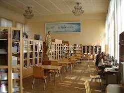 Bibliotek i Moskva. Foto: Tage Andersson.