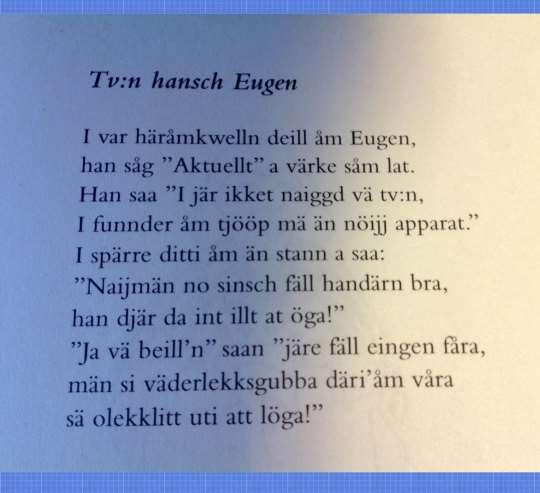 Dikt av Erik Grahn